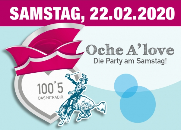 Oche A'love - Die Party am Samstag