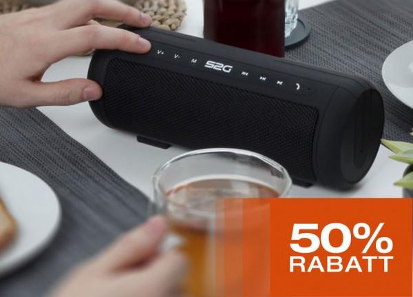 Bluetooth-Speaker zum halben Preis