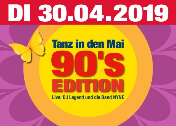 Tanz in den Mai - 90´s Edition