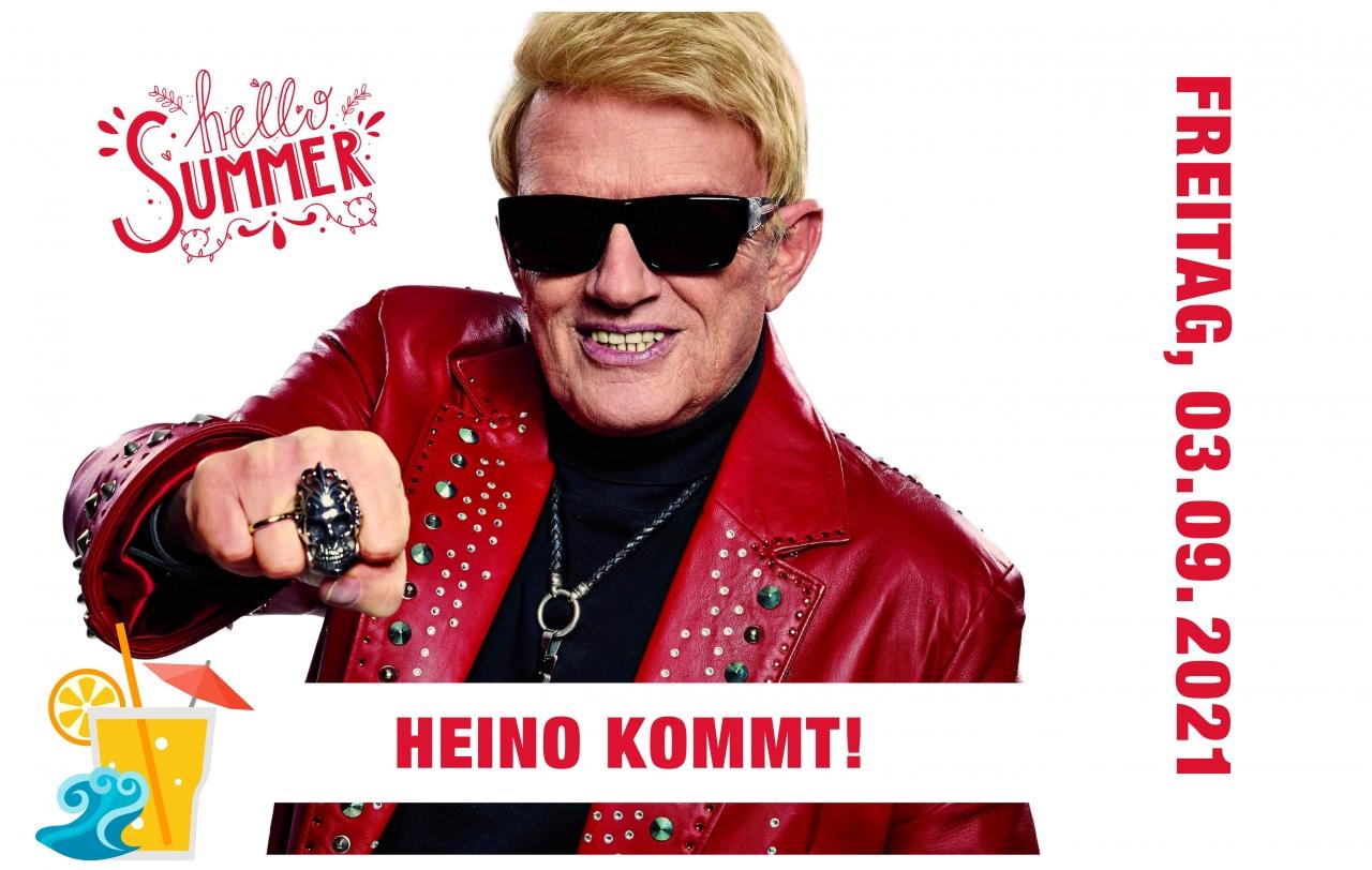 """Sommerfestival 2021: Freizeitgelände Walheim der Freitag """"Heino"""""""
