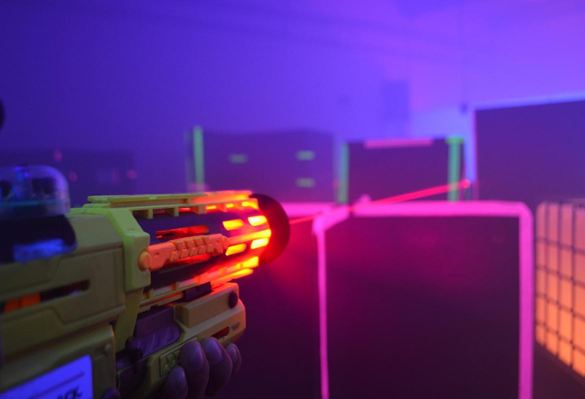 Action der Extraklasse - Black LaserTag